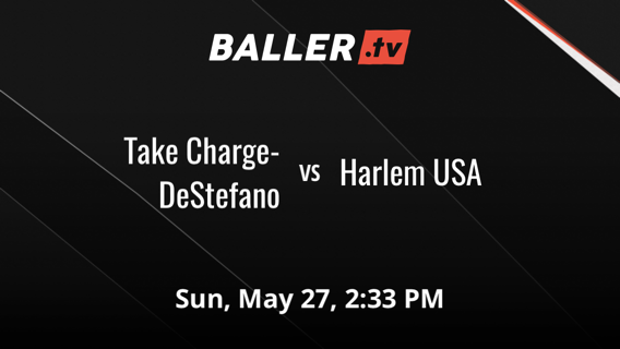 Take Charge-DeStefano vs Harlem USA
