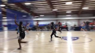 Lady Xmen with a win over Carolina Elite (D2), 42-29