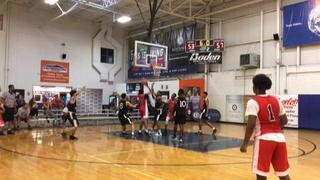 Team Stat (MD) getting it done in win over Team Final Red (PA), 59-55