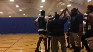Lincoln Park Panthers with a win over Harlem USA Partners , 68-62