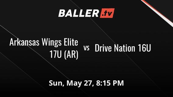 Arkansas Wings Elite 17U (AR) vs Drive Nation 16U