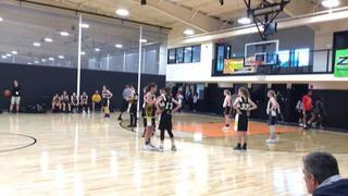 RABC Basketball (MA) puts down Central Mass Swarm - Courtney (MA) with the 47-40 victory