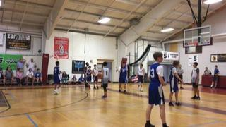 Greenwich Stars Blue (CT) victorious over Bluewave Basketball (NY), 47-32
