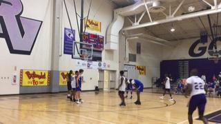 Saluda High School getting it done in win over Cardinal Newman, 58-56