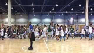 Osa Sharpshooters (McMiller) picks up the 77-68 win against Philadelphia Belles (Andrieux)