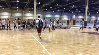 Philadelphia Belles (Peterson) with a win over Gorilla 023, 62-48