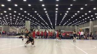 Bay State Jaguars Bollin/Hampton Puts Down Focus3D Black With The 46 42  Victory