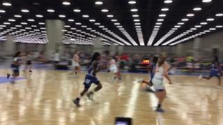Greensboro Lady Gaters Bradford 2021 emerges victorious in matchup against MD SHOOTING STARS/TEAM MARYLAND ADIDAS 15u, 43-26
