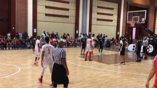 Houston Hoops Blue Chips defeats Team D. Miller Elite, 59-55