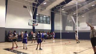 Paper City Basketball Club - Cauley defeats Basketball Nova Scotia - Team Anthony, 63-43