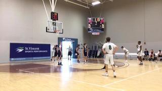 Things end all tied up between HC Elite Green 9th and Mid Ohio Pumas- Kennedy 9 , 60-43