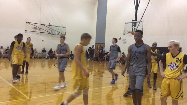 Oklahoma Impact 17U Colbert (OK) 78 Baller University Basketball 76