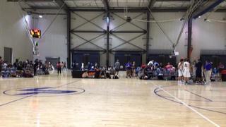 North Metro Elite defeats Carolina Clippers (Pauldin) 17U, 57-52