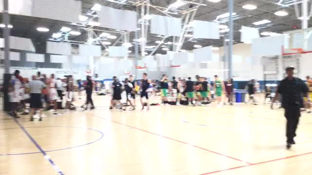 Texas Exclusive Student Athletes with a win over Arizona Grassroots, 59-58