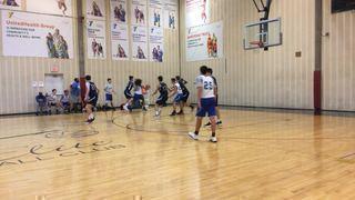 AZ Rebels Blue picks up the 66-49 win against Excel Basketball