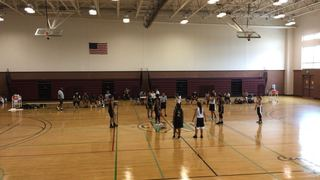 Lady Giants Black with a win over Texas Dream, 68-52