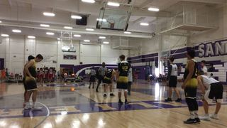 San Diego Elite 16 (CA) vs Saints Basketball 2020 (CA)