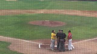 Things end all tied up between Aguada Explorers and Plattsburgh Redbirds