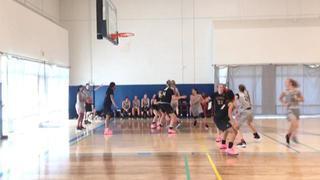 Cal Stars Nike EYBL gets the victory over Cal Stars 16 EYBL, 73-41