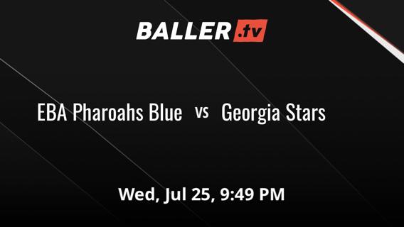 EBA Pharoahs Blue vs Georgia Stars