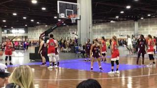 Maryland Belles - Howard-Franklin victorious over IN showcase Gorman, 51-39