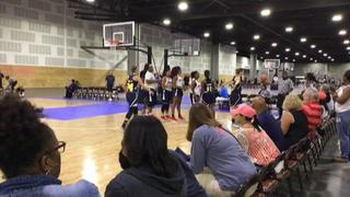 AL Southern Starz 2021 Looney puts down Team Miller Kevin with the 58-54 victory