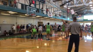 IL-Midwest Elite 16 EYBL Weibel wins 69-34 over IN-Indy Magic 17 Scott Blue Star IA-QC Attack 17