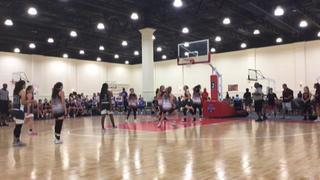 Lady NorCal Dynasty Elite with a win over Cal Sparks Extreme 17U Blue East, 53-52