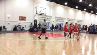 San Diego Sol Fire Red picks up the 51-47 win against Waves KPlum Elite -White