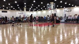 Sabers Lock Up picks up the 57-47 win against Cal Sparks Extreme 16U Blue West
