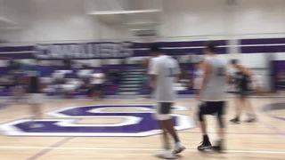 Team Black steps up for 81-51 win over Team White