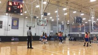 It's a wash between NJ Panthers and NY Hoopers, 36-36