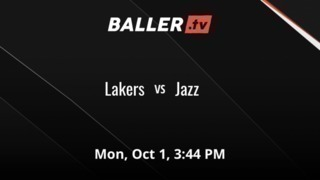Things end all tied up between Lakers and Jazz