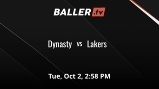 It's a wash between Dynasty and Lakers