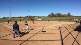 Nebraska Echoes (TL) wins 6-2 over Iowa Slammers (JH)