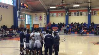 Monroe High School (NY) with a win over All Hallows (NY), 62-45