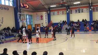 The Knox School (NY) wins 94-79 over Spring Valley High School (NY)