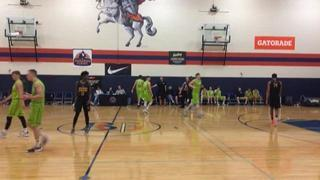 Middlebrooks Academy (CA) gets the victory over Urspring (Germany), 93-79