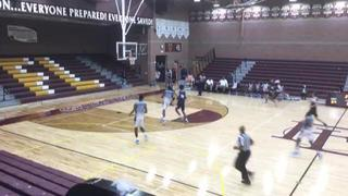 Vegas Elite HS (NV) emerges victorious in matchup against Ci Gibson (Bahamas), 76-67