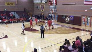 Denver East (CO) with a win over Desert Oasis (NV), 78-75
