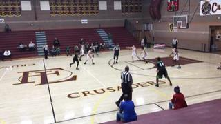 Green Valley (NV) picks up the 74-43 win against San Bernardino (CA)