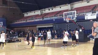 Franklin High School defeats CMIT -North High School, 43-36
