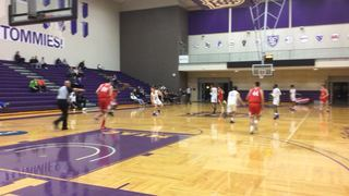 Benilde St. Margarets' with a win over Cretin-Derham Hall, 24-15