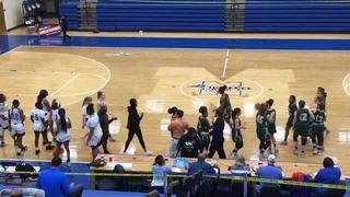Holy Spirit Prep (GA) steps up for 63-62 win over DME (FL)