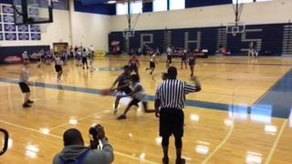 Tean Loaded 2023 Wilson getting it done in win over Raising Young Men 2023, 49-37