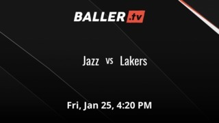 Jazz vs Lakers
