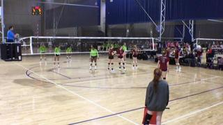 NAVC 16-1 Damien wins 2-0 over SCVBC 16-1 Black