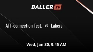 ATT-connection Test.  vs Lakers