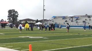 Things end all tied up between Team Hustle and EAT 7on7 1K, 7-7