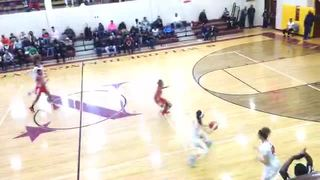 Long Island Lutheran (NY) picks up the 58-52 win against National Christian (MD)